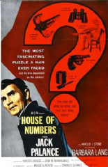 House of Numbers 1957 DVD - Jack Palance / Edward Platt